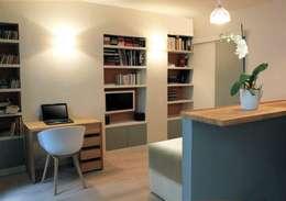 Salas de estilo moderno por Agence KP