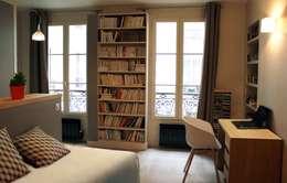 modern Living room by Agence KP