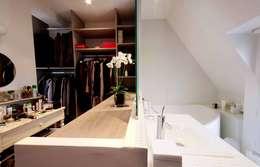 Projekty,  Garderoba zaprojektowane przez Agence KP