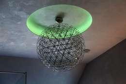 Projekty,  Salon zaprojektowane przez Bolz Licht & Design GmbH