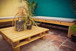 rustikaler Garten von amiko espacios