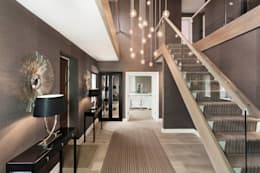 Entrance Hall : modern Corridor, hallway & stairs by Emma Hooton Ltd
