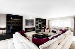 غرفة المعيشة تنفيذ Emma Hooton Ltd