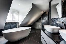 moderne Badkamer door Emma Hooton Ltd
