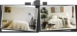 Projekty,  Sypialnia zaprojektowane przez Karisma Home Staging