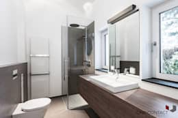 modern Bathroom by ONE!CONTACT - Planungsbüro GmbH