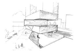 Casas de estilo moderno por David Menéndez Ferreras
