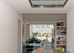 Ristrutturazione Di Un Appartamento In Roma U2013 70 Mq: Soggiorno In Stile In  Stile Moderno
