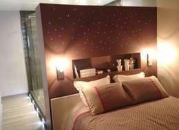 Projekty,  Sypialnia zaprojektowane przez HOME feeling
