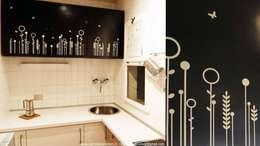 Stencil da parete, per far brillare la fantasia sui vostri muri!