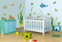 modern Nursery/kid's room تنفيذ K&L Wall Art