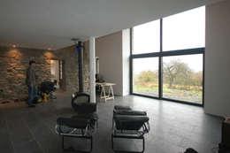 Salon de style de stile Rural par D. M. Alferink architect