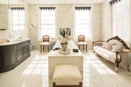 Projekty,  Łazienka zaprojektowane przez XUL Architecture