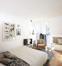 Vacation Rental W1 - Business Studio: moderne Wohnzimmer von Ute Günther  wachgeküsst
