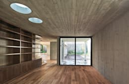 Estudios y oficinas de estilo moderno por © Sandra Pereznieto