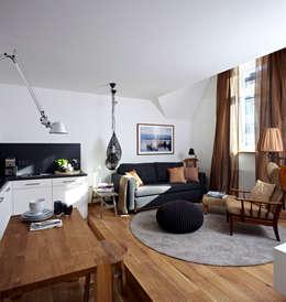 Vacation Rental W4   Loftartig Wohnen: Moderne Wohnzimmer Von Ute Günther  Wachgeküsst