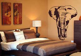 Murs & Sols de style de style eclectique par K&L Wall Art