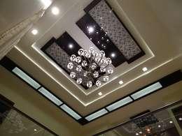 Projekty,  Salon zaprojektowane przez Hasta architects