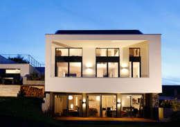 Gartenseite:  Häuser von BITSCH + BIENSTEIN Architekten GbR BDA