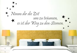 Wandtattoo - Nimm dir die Zeit um zu träumen... 2 :  Wände & Boden von K&L Wall Art