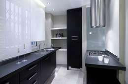 Appartamento MF: Cucina in stile in stile Moderno di Studio di Architettura SIMONE GIORGETTI
