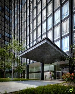 Complessi per uffici in stile  di 37d Architecture Office
