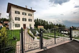 moderne Häuser von luca pedrotti architetto