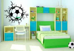 Habitaciones infantiles de estilo  por K&L Wall Art