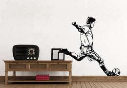 Paredes y pisos de estilo moderno por K&L Wall Art