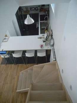 modern Kitchen by Allegre + Bonandrini architectes DPLG