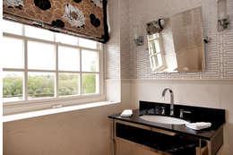 country Bathroom by Elizabeth Bee Interior Design