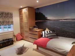 Projekty,  Sypialnia zaprojektowane przez inclover