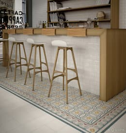 Equipe Ceramicas: kolonyal tarz tarz Yemek Odası