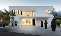 Casa M: Case in stile in stile Moderno di monovolume architecture + design