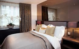 غرفة نوم تنفيذ Definitive Interior Design