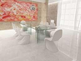 moderne Esszimmer von lca-office