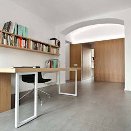 nh bf: Studio in stile in stile Moderno di studioata