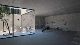 Patio de luces: moderner Fitnessraum von homify