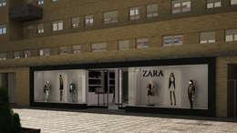 Oficinas y Tiendas de estilo  por homify