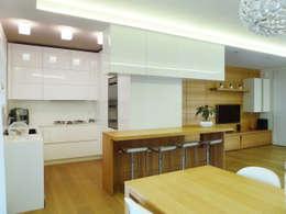 modern Living room by Studio Massimo Rinaldo architetto