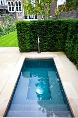 Mini Pool In A Garden