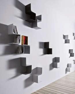 Projekty,  Salon zaprojektowane przez Alpestudio