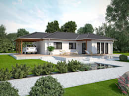 Hausbau modern walmdach  Welche Dachform für mein Haus?