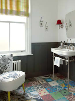 modern Bathroom by LEIVARS