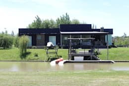 Projekty,  Dom prefabrykowany zaprojektowane przez 2424 ARQUITECTURA