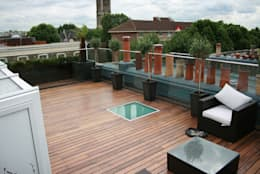 Terrasse von 4D Studio Architects and Interior Designers
