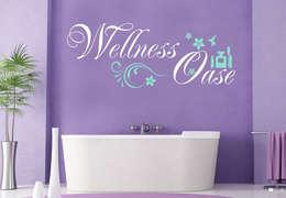 Wandtattoo Wellness Oase 2 (2-farbig) :  Wände & Boden von K&L Wall Art