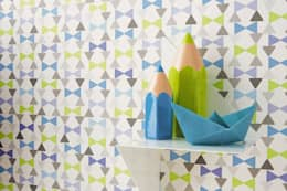 eclectic Nursery/kid's room by kinder räume ag