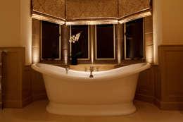 Brilliant Lighting: eklektik tarz tarz Banyo