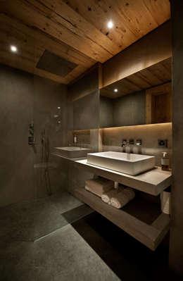 Projekty,  Łazienka zaprojektowane przez Ardesia Design